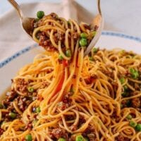 Chinese Spaghetti Bolognese