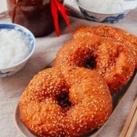 Cantonese Fried Dough – 咸煎饼 (Ham Chim Peng)