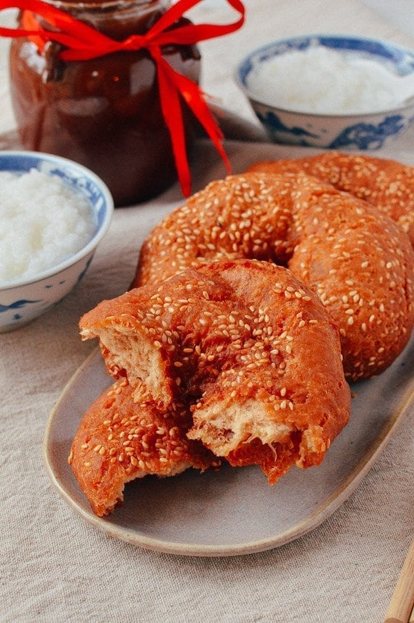 Cantonese Fried Dough 咸煎饼 Ham Chim Peng