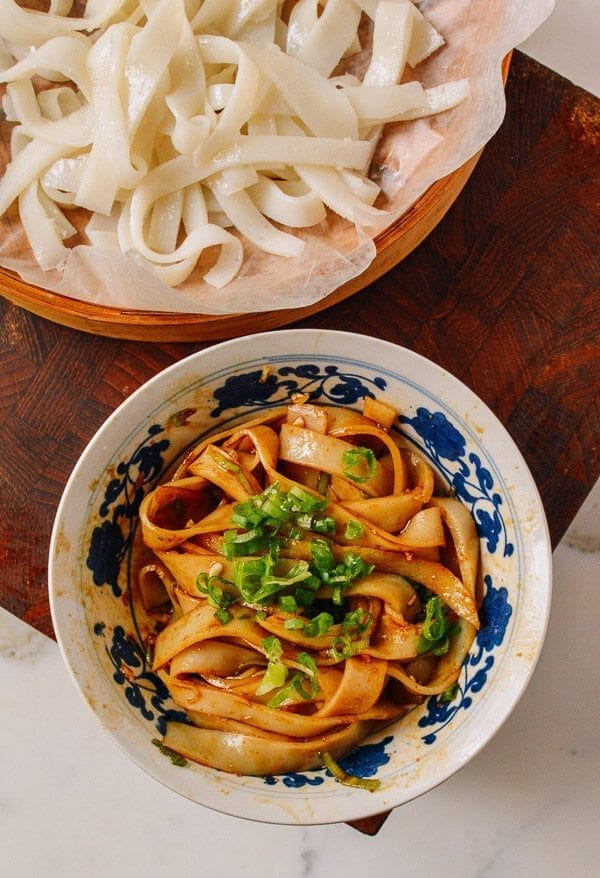 homemade rice noodles | the woks of life