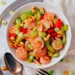 Shrimp with cashews