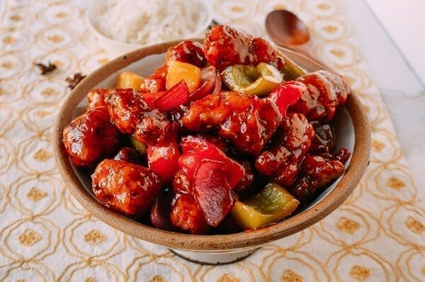 Sweet and Sour Pork, by thewoksoflife.com