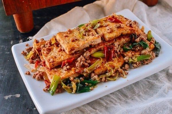Homestyle tofu stir-fry