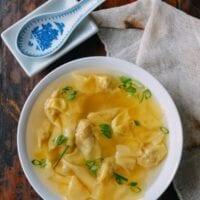 Shanghai Wonton Soup