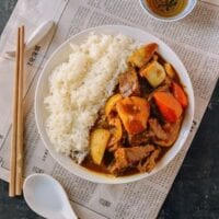 Beef Curry, A Hong Kong Style Recipe