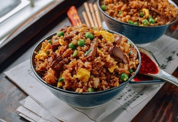 Classic Beef Fried Rice - A Chinese Takeout Recipe - The ...