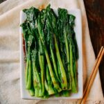 Blanched choy sum