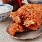 Ham Chim Peng Cantonese Fried dough, thewoksoflife.com