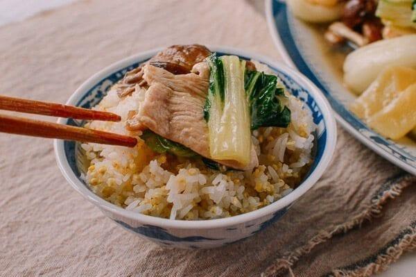 Moo Goo Gai Pan on Rice, by thewoksoflife.com