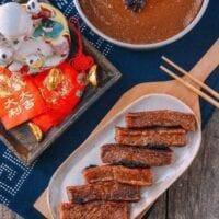 Nian Gao (Chinese New Year Sweet Rice Cake)