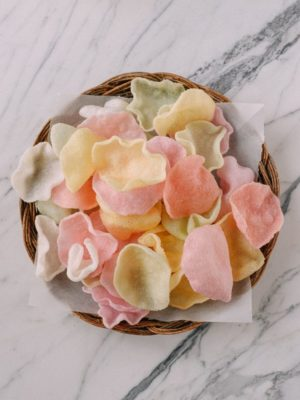 Fried Prawn Crackers for Chinese New Year, by thewoksoflife.com