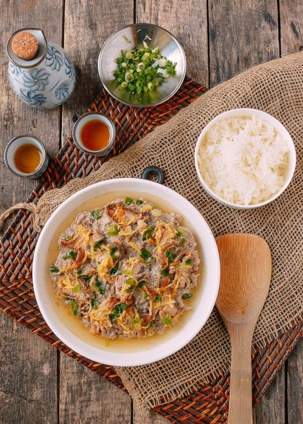 Steamed Pork with Salted Fish, by thewoksoflife.com