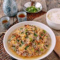 Steamed Pork with Salted Fish (咸鱼蒸肉饼)