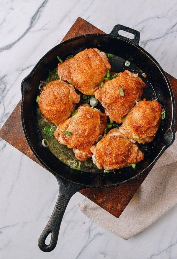Easy Asian Dry Rub Chicken, by thewoksoflife.com