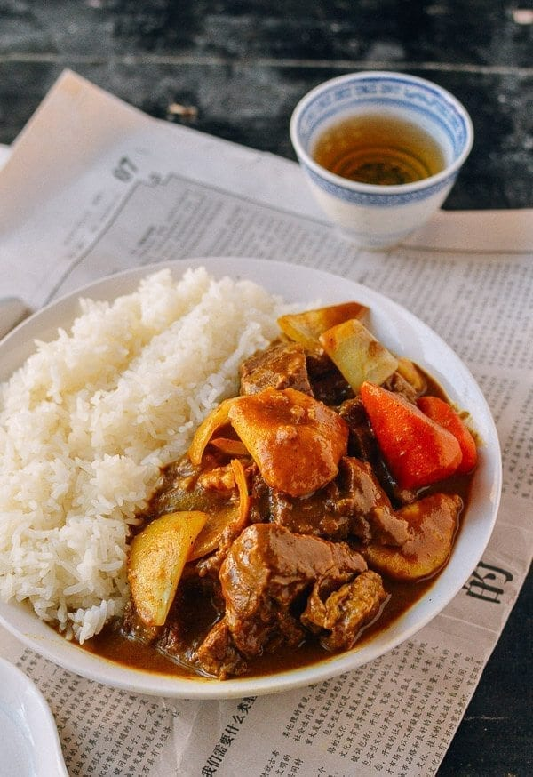 Beef Curry, by thewoksoflife.com