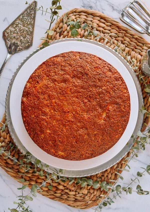 Our Favorite Carrot Cake Recipe, by thewoksoflife.com