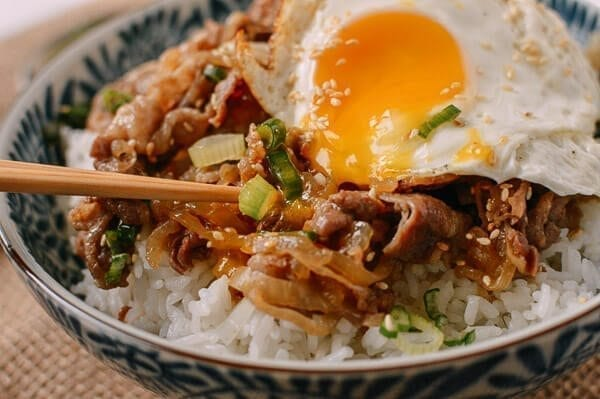 Gyudon (Japanese Beef & Rice Bowls) - The Woks of Life
