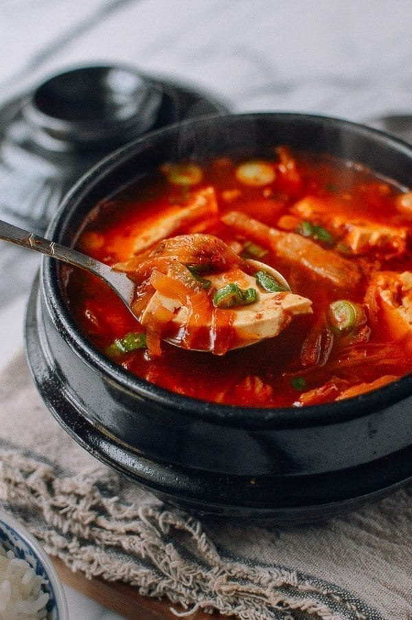 stew with chicken and tofu recipe yummly korean stew with tofu kimchi ...