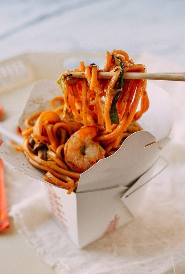 Shrimp Lo Mein, by thewoksoflife.com
