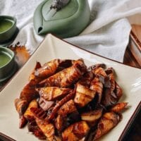 Braised Spring Bamboo Shoots (油焖笋)