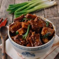 Braised Pork Ribs and Taro Stew