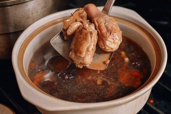 Chinese Chicken Mushroom Soup, by thewoksoflife.com