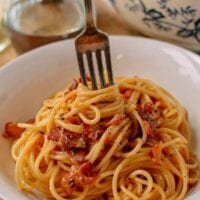 The Perfect Spaghetti Carbonara, by thewoksoflife.com