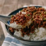 Cantonese beef rice bowls