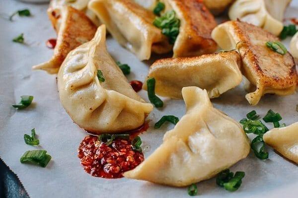 Chicken Mushroom dumplings