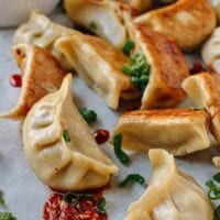 Chicken Dumplings with Shiitake Mushrooms