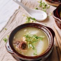 Simple Chinese Oxtail Soup