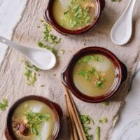 Simple Oxtail Soup, by thewoksoflife.com