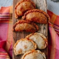 A Beef & Cheese Empanada Recipe: Baked OR Fried