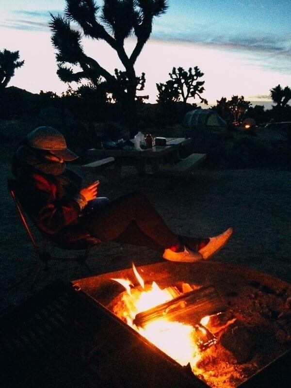 Joshua Tree Campfire