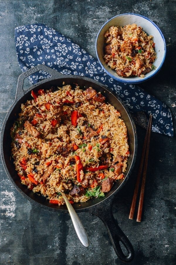 Xinjiang Lamb Rice, An Uyghur Food Favorite, by thewoksoflife.com
