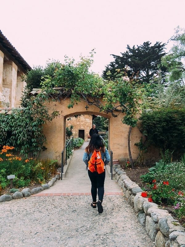 Carmel Mission, by thewoksoflife.com