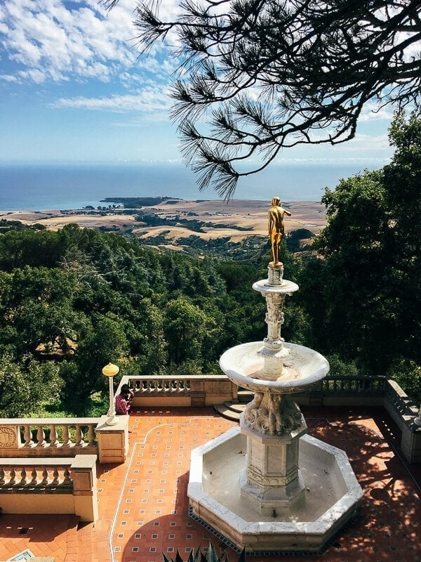 Hearst Castle View, by thewoksoflife.com