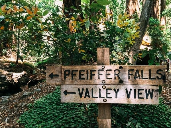 Pfeiffer Falls and Valley View Trail, by thewoksoflife.com