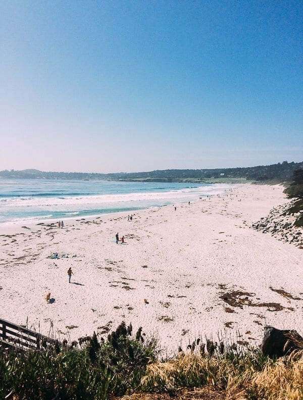 Carmel Beach, by thewoksoflife.com