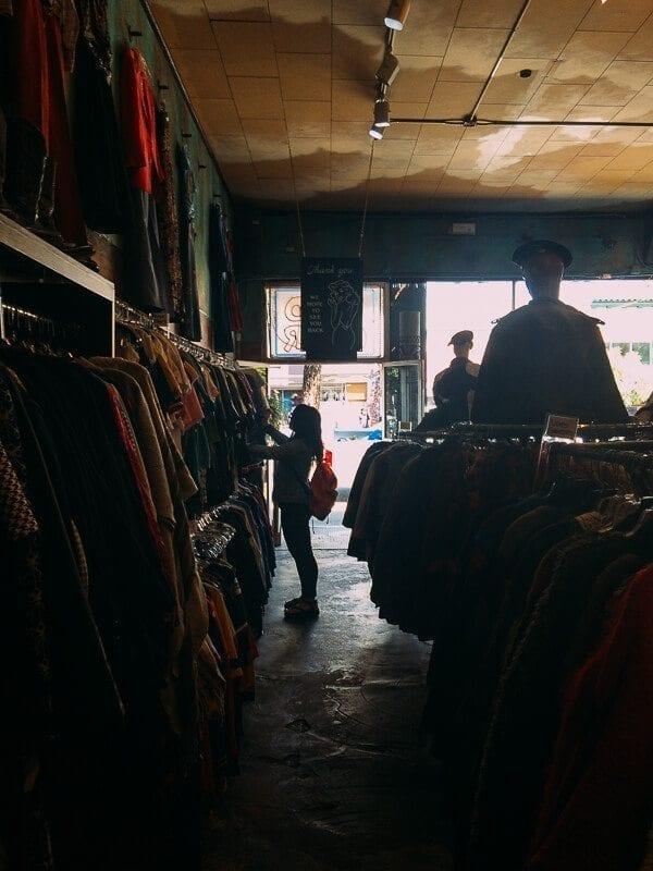 Vintage Shopping, by thewoksoflife.com