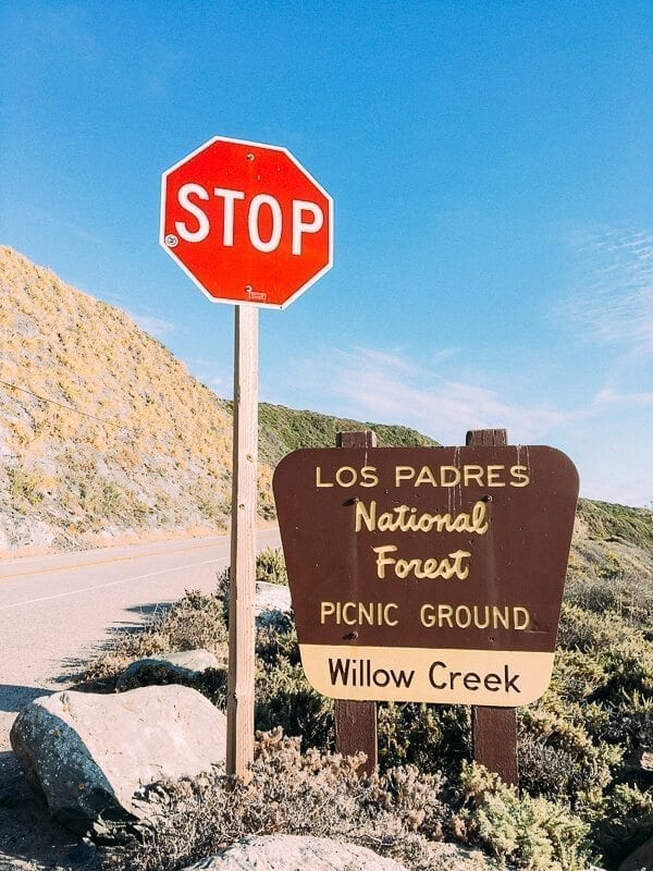 Los Padres National Forest, by thewoksoflife.com