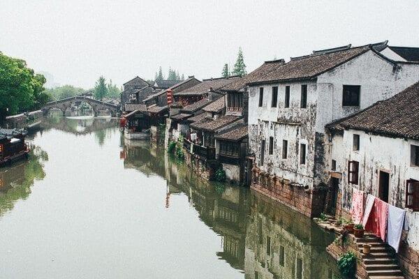 Shanghai city called Qiān Dēng (千灯) by thewoksoflife.com