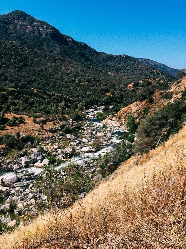 Sequoia National Park river