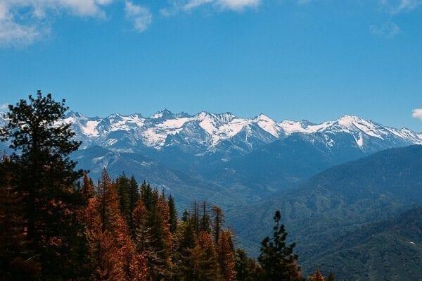 Moro Rock Mountain View