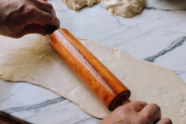 Shanghai Scallion Pancakes, by thewoksoflife.com