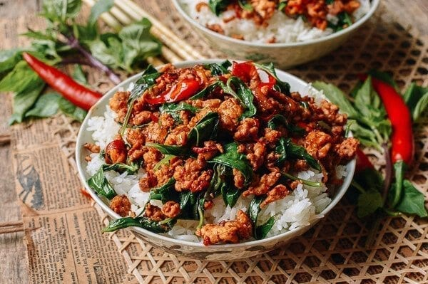 Gai Pad Krapow (Thai Basil Chicken) Recipe — Dishmaps