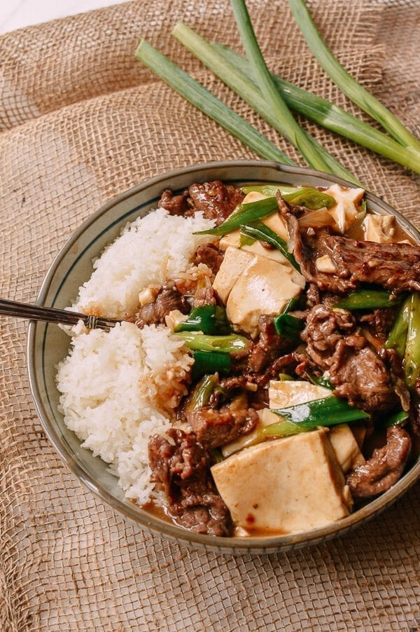 Beef Tofu Stir Fry, by thewoksoflife.com