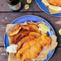 Beer Batter Fish Fry w/ Potato Wedges & Tartar Sauce