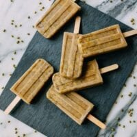 Mung Bean Popsicles, by thewoksoflife.com