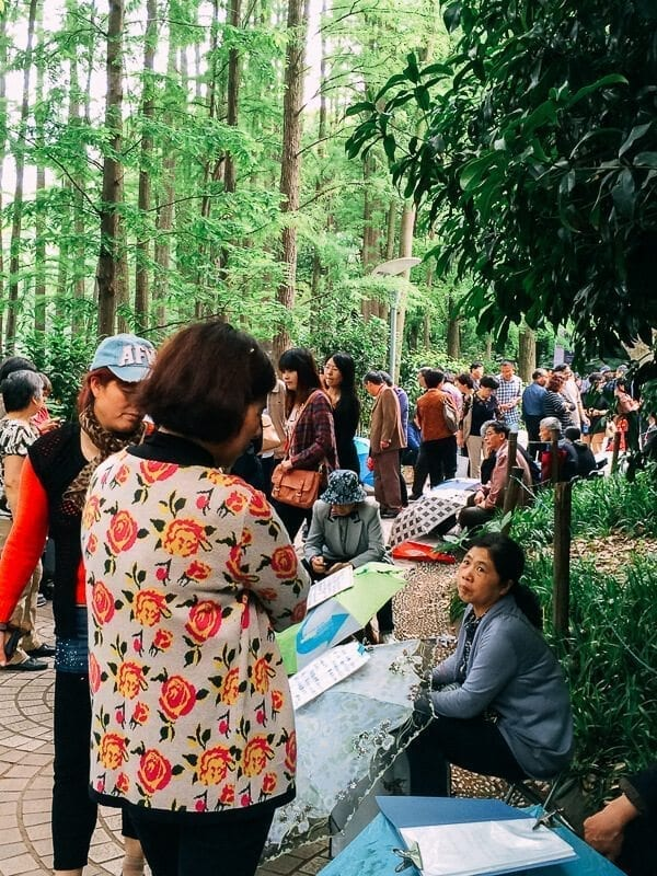 Seeking Love in Shanghai: The People's Park Matchmaking Corner, by thewoksoflife.com